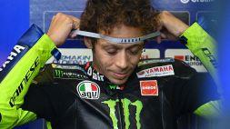 """MotoGp, Valentino Rossi: """"Fatto di tutto, ma non basta"""""""