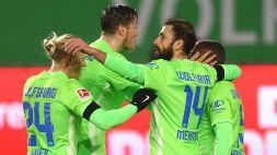 Bundesliga, festa del gol in Wolfsburg-Werder