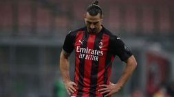 Milan, guaio per Zlatan Ibrahimovic: ecco i tempi di recupero