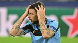 """Roma-Lazio, Acerbi k.o: """"Farò la risonanza per essere sicuro non sia nulla di grave"""""""