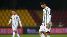 Juventus, stangata per Alvaro Morata dopo l'espulsione