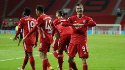 Bundesliga: il Bayern vince in extremis e torna in testa