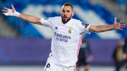Super Benzema lancia il Real Madrid: passa anche il Gladbach