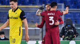 Tris in rimonta sullo Young Boys: Roma ai sedicesimi da capolista