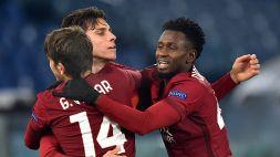 Europa League: tris della Roma, pari Napoli in Olanda