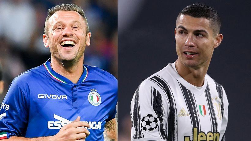 Juventus: Antonio Cassano attacca Cristiano Ronaldo e Dybala