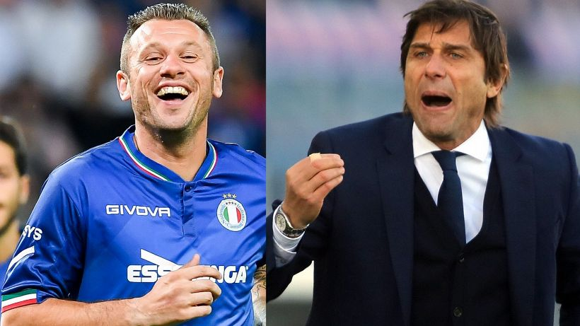 Inter, nuovo esercizio di Antonio Cassano a Conte