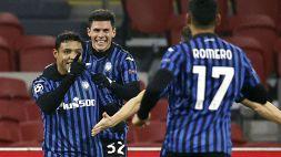 Champions League: Ajax-Atalanta 0-1, le foto