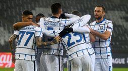Champions League: Inter-Borussia Moenchengladbach 3-2, le foto