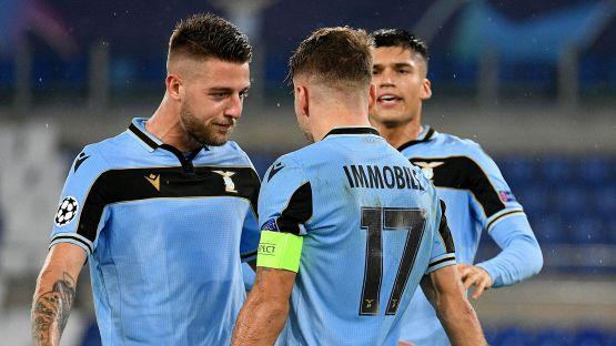 Champions League: Lazio-Club Brugge 2-2, le foto