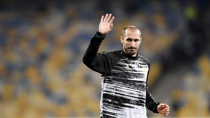 """Juventus-Napoli, Chiellini: """"Classifica falsata, non sono stanco di vincere"""""""