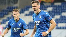 Bundesliga: Hoffenheim batte l'Augsburg nel monday night
