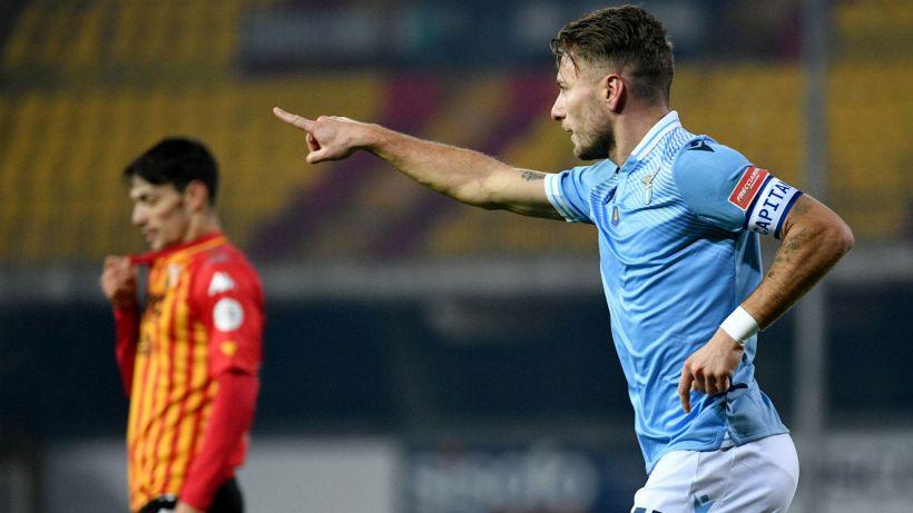 Benevento-Lazio 1-1: Immobile-Schiattarella, pari tra gli Inzaghi