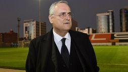 """Lazio, Lotito: """"Voglio una reazione col Crotone"""""""