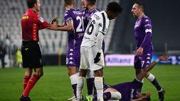 Juventus, il VAR punisce Cuadrado: da giallo a rosso diretto