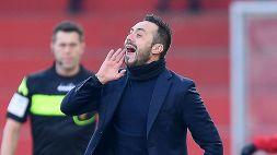 Sassuolo: De Zerbi rifiuta l'offerta dello Spartak Mosca