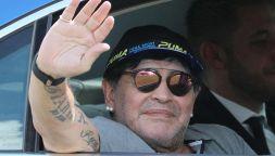 Maradona, l'ultimo messaggio audio per l'ex e il figlio Diego