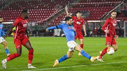 Europa League, Napoli fermato dall'AZ: qualificazione rimandata
