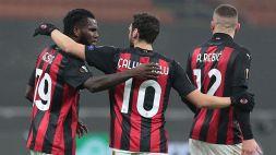 Il Milan incanta: il tweet di stupore della leggenda rossonera