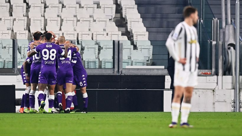 Juventus, contro la Fiorentina è un vero naufragio: 3-0 viola a Torino