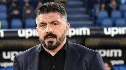 """Gattuso: """"Espulsione di Insigne? Solo in Italia vedo certe cose"""""""