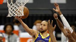 """Nba, Curry perde ma aggiorna il record: """"Sublime, mai visto così forte"""""""