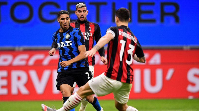Serie A, Milano in vetta dopo 10 anni: La sfida passa anche da Theo Hernandez e Hakimi
