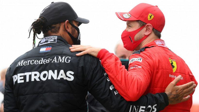 F1, Sebastian Vettel rivela Lewis Hamilton