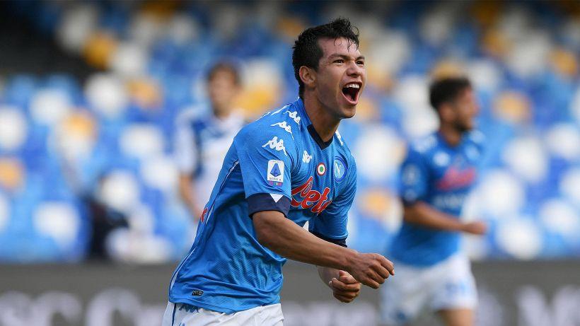 Napoli, Lozano segna il gol più veloce della storia
