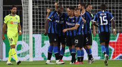 Moenchengladbach: notte agitata per l'Inter svegliata dai tifosi tedeschi