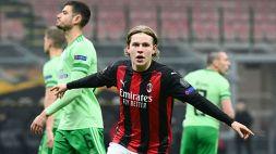 Europa League: la formazione dei best 11, c'è Hauge