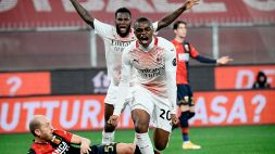 Destro fa tremare il Milan: Kalulu salva il primato