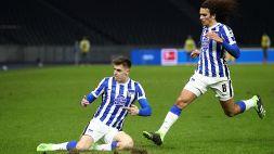 Piatek entra e fa doppietta: l'Hertha vince il derby