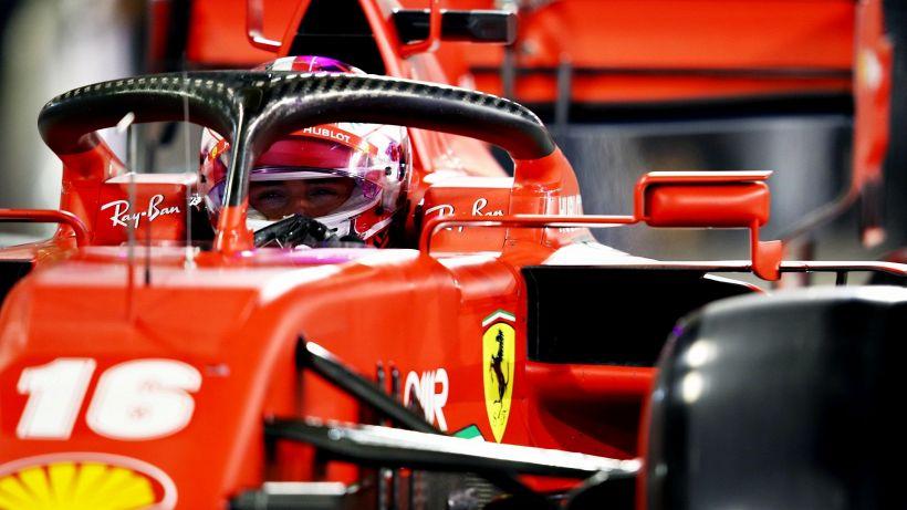 F1, Ferrari: Le parole di Leclerc
