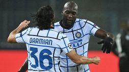 Champions: un grande Lukaku tiene l'Inter in vita. Pari Atalanta