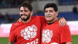 Diego Armando Maradona jr interviene nella polemica sull'eredità