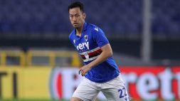 Maya Yoshida stregato dalla Sampdoria