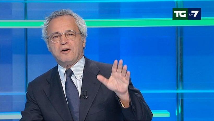 Bufera su Mentana, tifosi della Juve avvelenati col direttore del Tg7