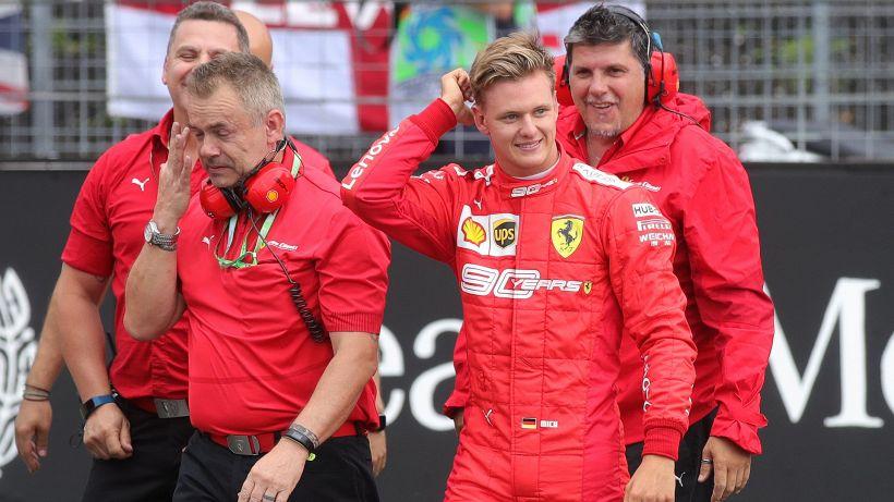 F1, Ferrari: Mick Schumacher's joy after the official announcement - World  Today News