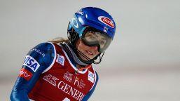 Mikaela Shiffrin salta i superG di St. Moritz