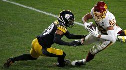 NFL, prima sconfitta per gli Steelers