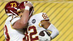 NFL: le foto di Washington FT-Pittsburgh Steelers 23-17