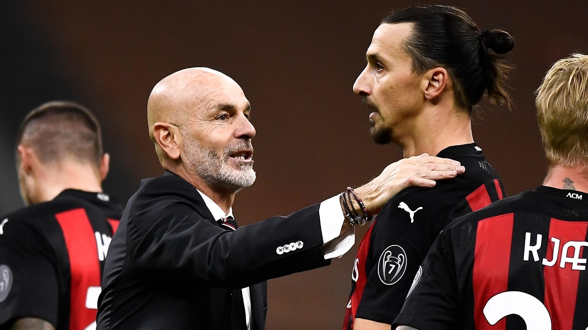 Milan, Pioli rivela cosa ha detto a Zlatan Ibrahimovic - Virgilio Sport