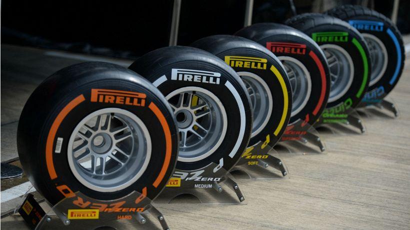 F1: Pirelli ha scelto le mescole per la stagione 2021