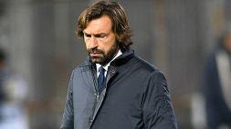 Juventus, Pirlo è sotto esame: scelto l'eventuale sostituto