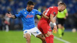 AZ-Napoli, le formazioni ufficiali: occasione per Politano