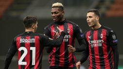 Europa League: nella Top 11 del 6° turno ci sono due rossoneri