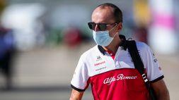 "F1, Kubica quarto e felice ad Abu Dhabi: ""Grazie Alfa Romeo"""