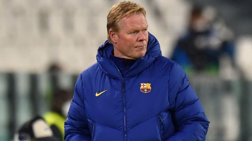 """Barcellona, Koeman: """"le parole del presidente su Messi non aiutano"""""""