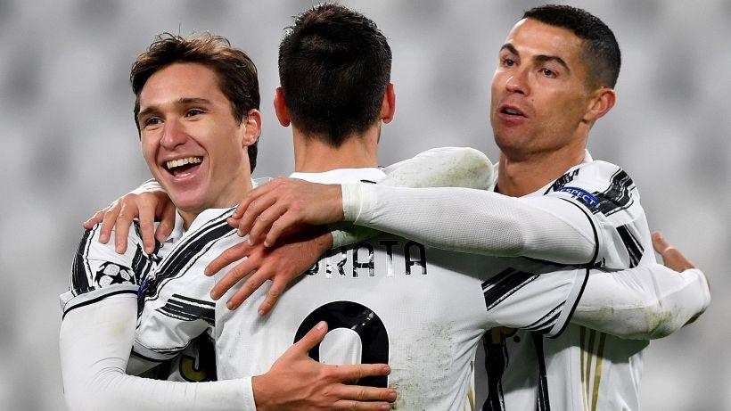 Champions: tris Juve, a segno anche Ronaldo. Pari Lazio a Dortmund